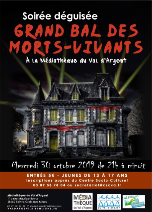 bal morts vivants